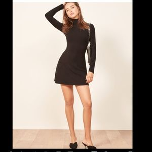 REFORMATION  BodyCon  XS Black Little Dress